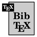 BIBTEX ICON